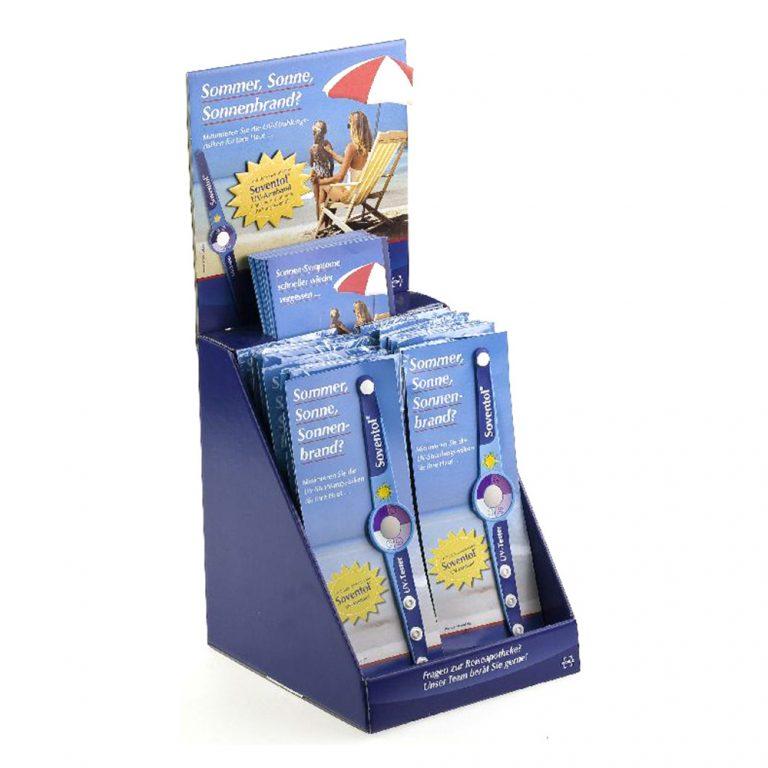 Kunde Medice, Produkt Soventol, UV Sonnenschutzarmband