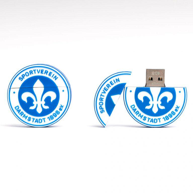 Werbemittel, O-Box, USB Stick, Darnstadt. Lilien